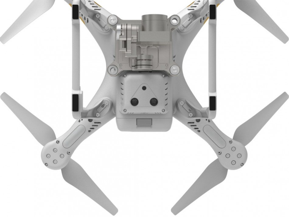 DJI Phantom 3 Advanced zespodu