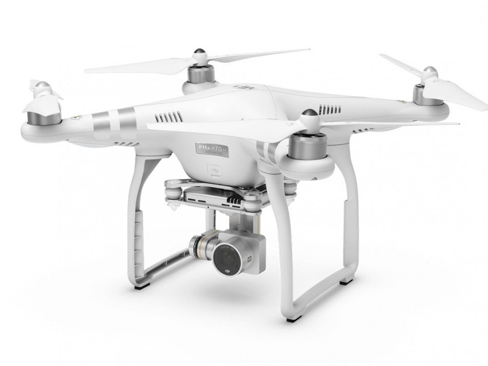 DJI Phantom 3 Advanced ze strany