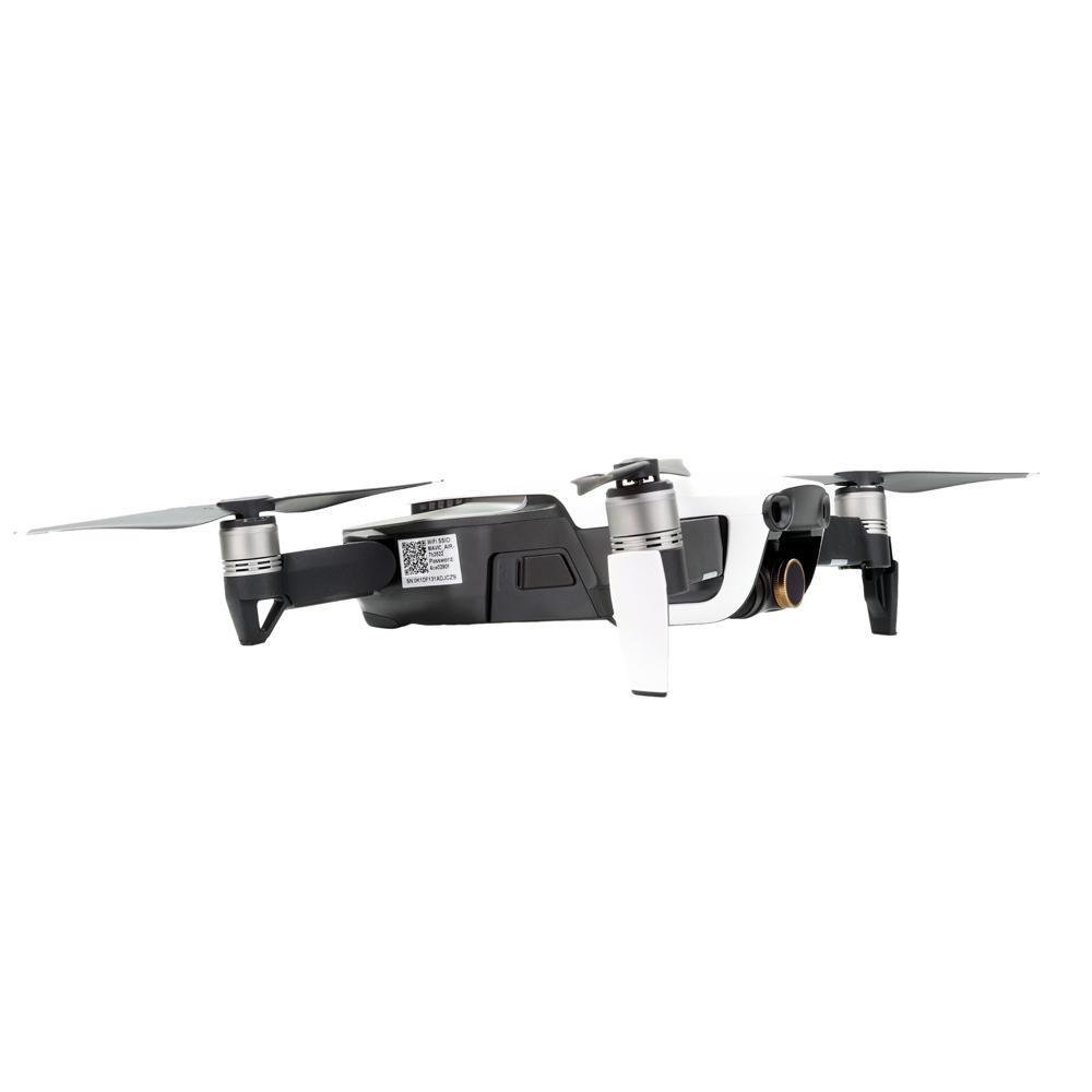 Filtry PolarPro Limited Collection Cinema Series pro dron Mavic Air na dronu ze strany
