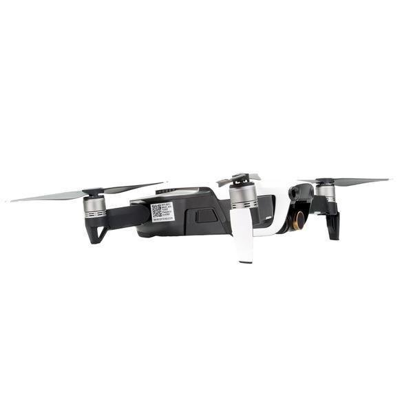 Filtry PolarPro Custom 3-Pack Cinema Series pro dron DJI Mavic Air na dronu ze strany