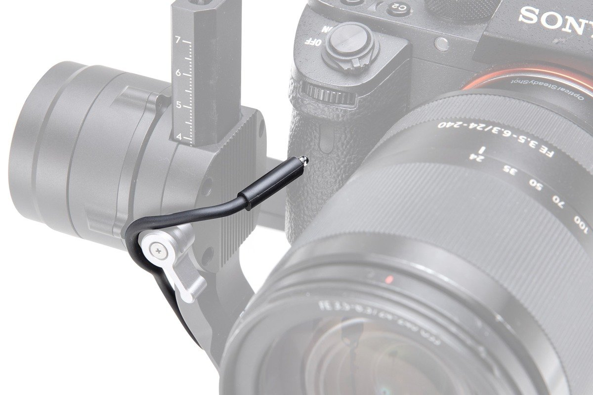 DJI Ronin-S IR Control Cable detail v akci