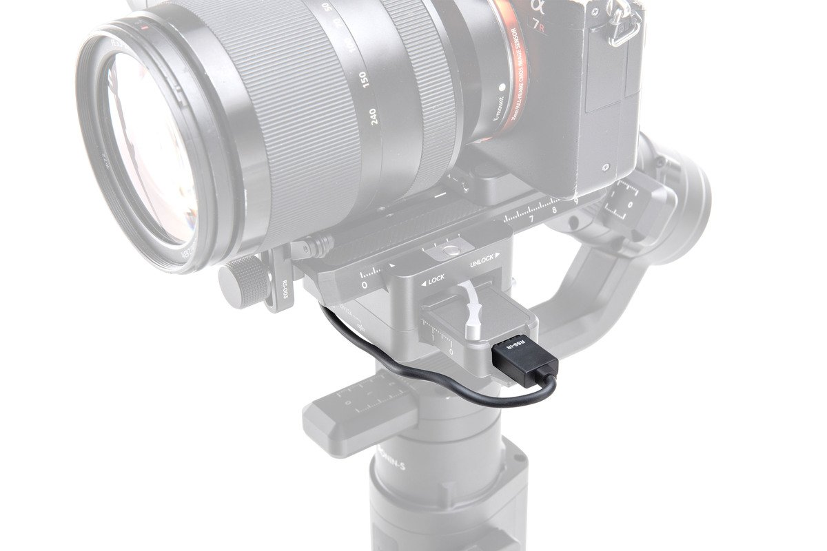 DJI Ronin-S IR Control Cable v akci