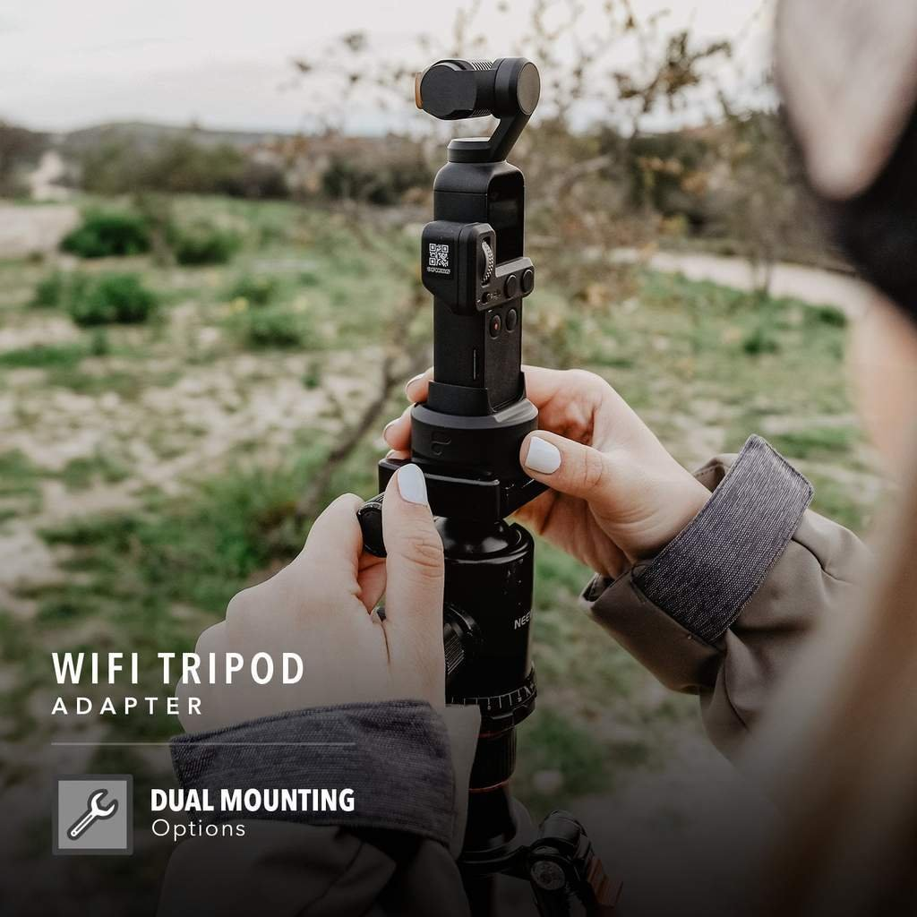 Tripod Adapter For Wifi Base pro DJI Osmo Pocket v praxi